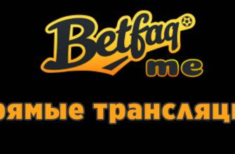 трансляции матчей от бетфак